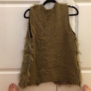 Xhilaration Jackets & Coats - Faux fur vest